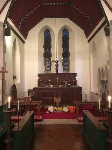 Harvest Festival at Curbrige Church