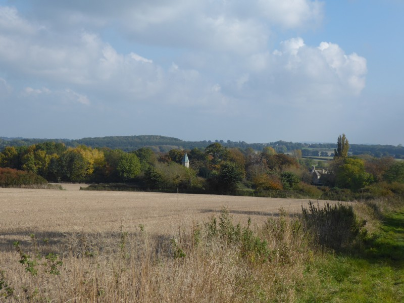 Looking over Lew from the Tumulus